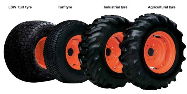 Tire-Of-the-Kubota-L5240