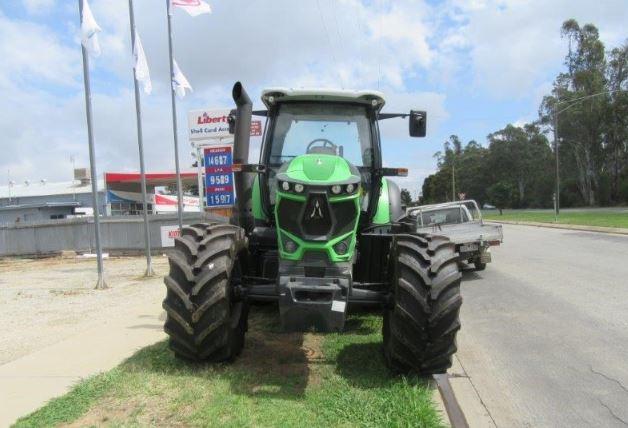 DEUTZ-FAHR 6155G Agrotron Tractor Specifications