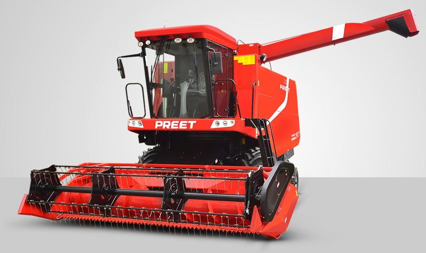 PREET 987 - Deluxe Model with AC Cabin - Self Propelled Combine Harvester price