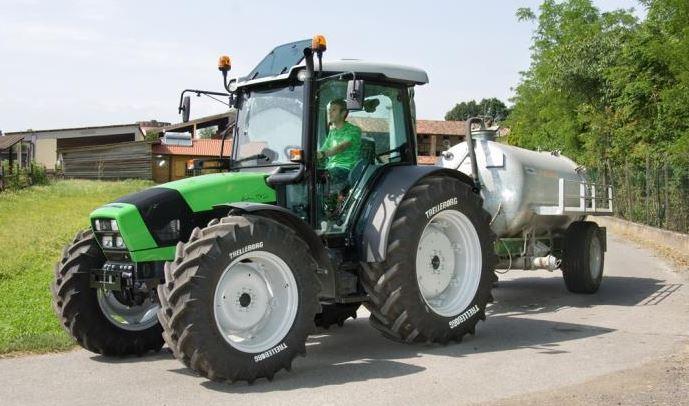 DEUTZ-FAHR Agrofarm 430 Tractor Specifications