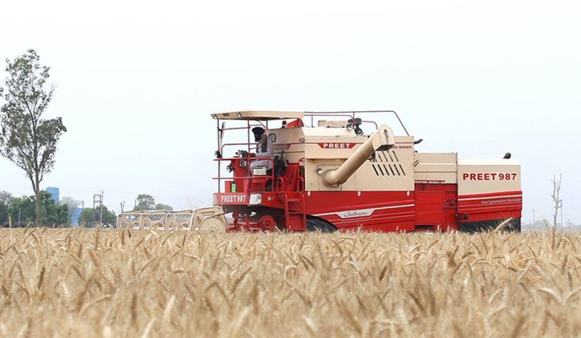 PREET 987 - Self Propelled Combine Harvester price in India