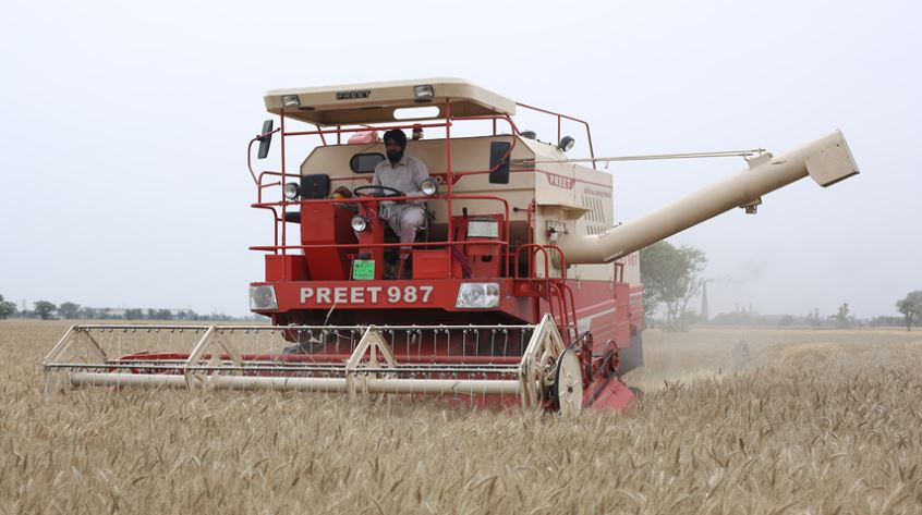 PREET 987 - Self Propelled Combine Harvester specifications