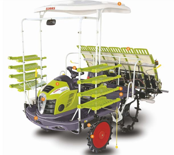 CLAAS PADDY PANTHER 26 Transplanter Price Specs Review Overview