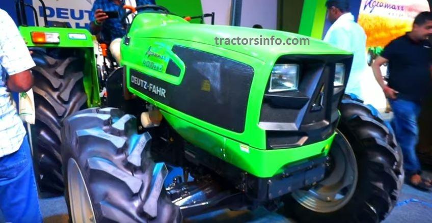 Deutz Fahr Agromaxx 4060E Tractor Price in India