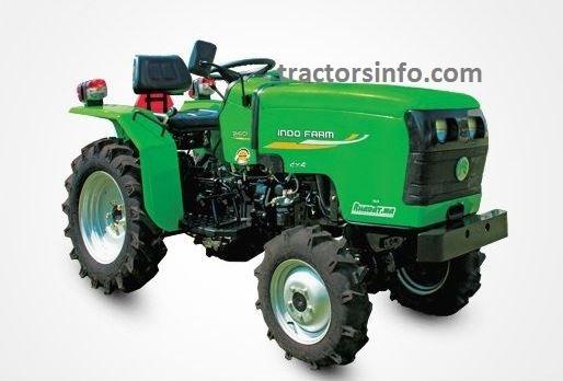 Indo Farm 1026 Mini Tractor Price in India, Specs, Review, Overview