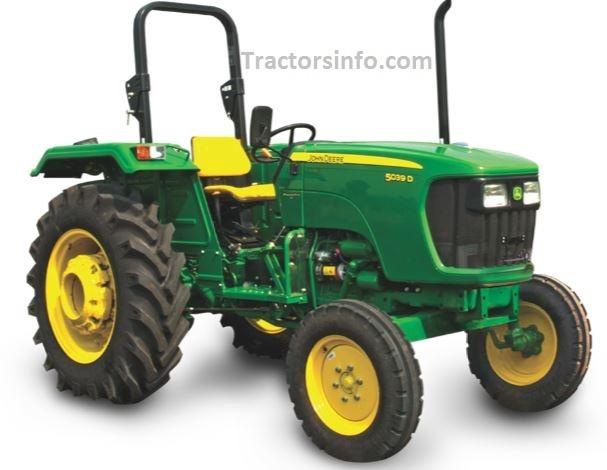 John Deere 5039D PowerPro Tractor Price in India, Specs, Review, Overview