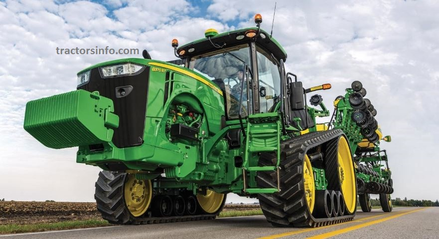 John Deere 8370RT Tractor For Sale Price, Specification, Review, Overview