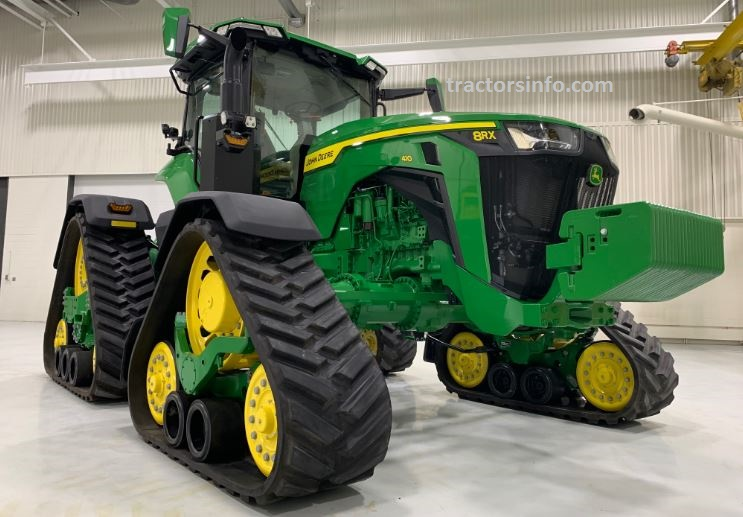 John Deere 8RX 410 Four-Track Tractor For Sale Price Specs & Features