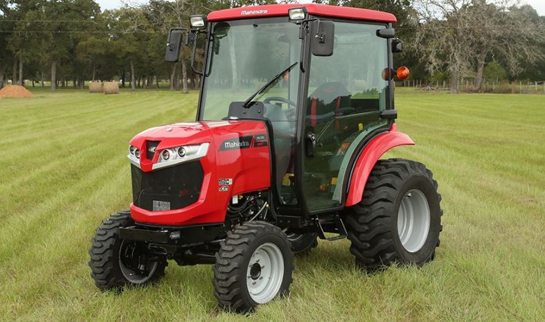 Mahindra 1635 HST Cab Compact Tractor Specifications