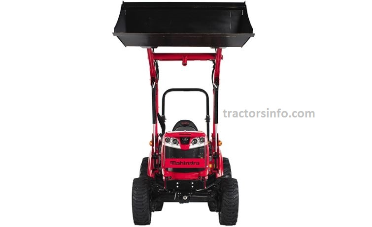 Mahindra 1635 Shuttle OS Compact Tractor Specifications