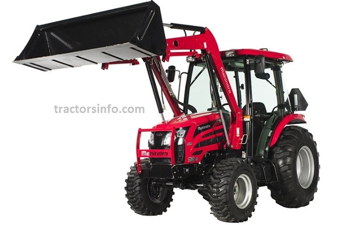 Mahindra 2655 Shuttle Cab Compact Tractor Price List in The USA