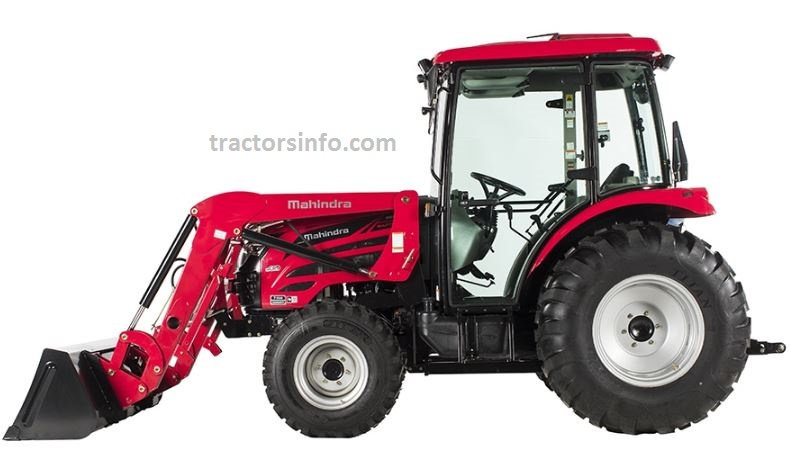 Mahindra 2655 Shuttle Cab Tractor Specifications