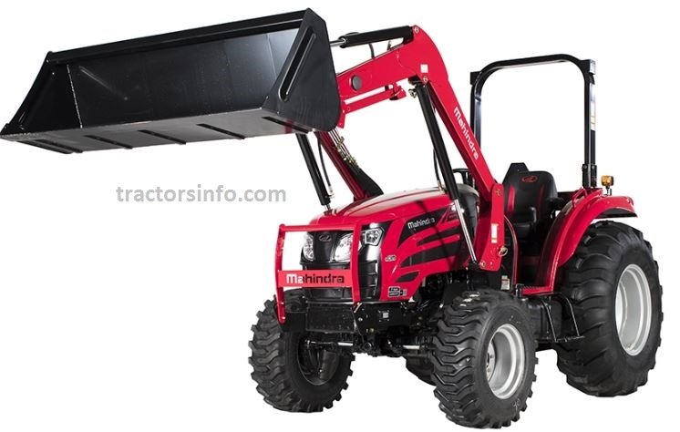 Mahindra 2655 Shuttle OS Compact Tractor Price List in The USA