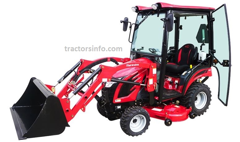 Mahindra eMAX 20S HST CAB Sub Compact Tractor Price Specs Review & Key Features