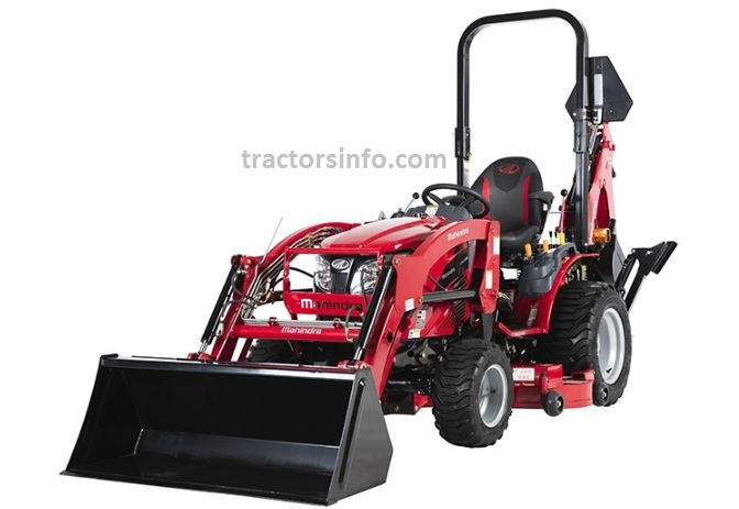 Mahindra eMAX 22L Gear Sub Compact Tractor For Sale Price Specs Review Features