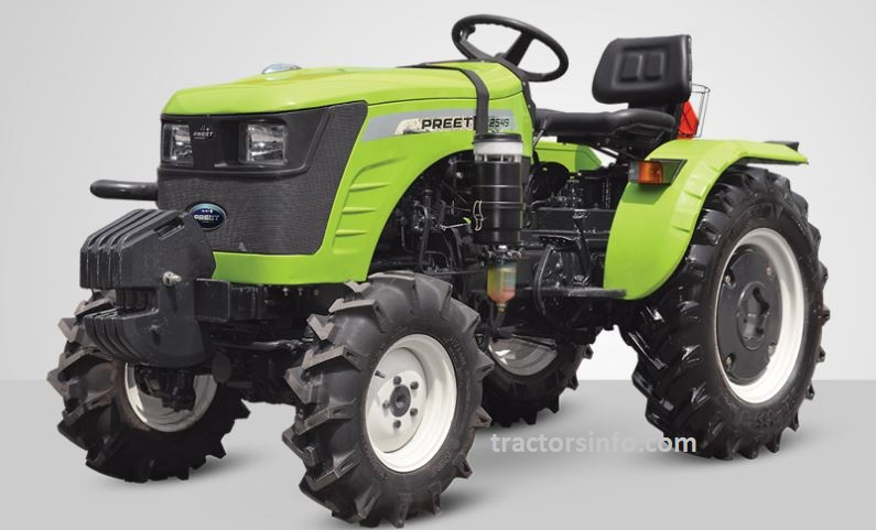 PREET 2549 4WD Tractor Price in India, Specs, Review, Overview