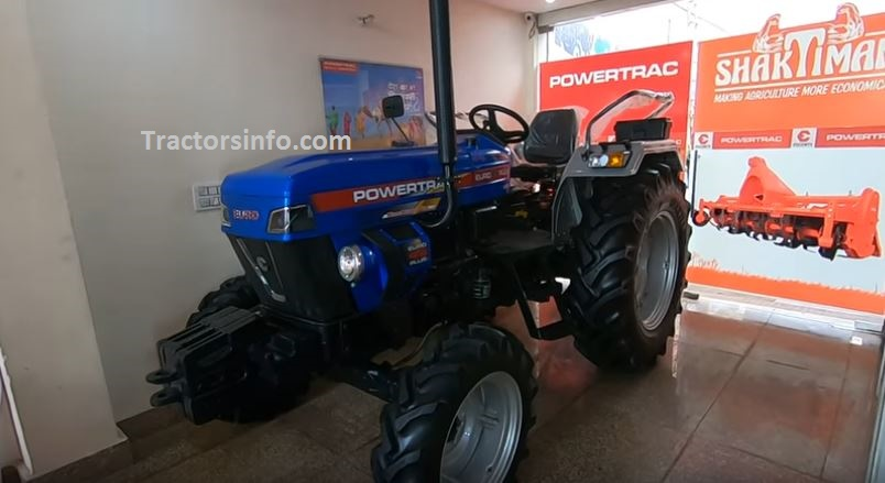 Powertrac Euro 45 Plus 4WD Tractor Price in India 2019, Specs, Review, Overview
