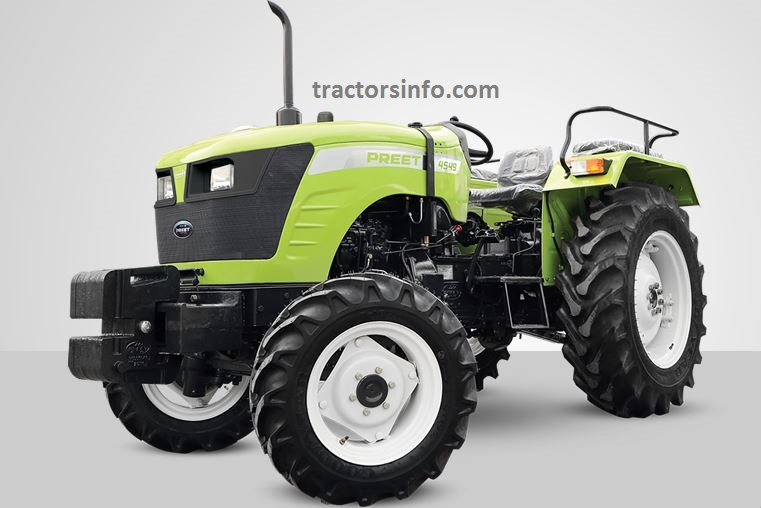 Preet 4549 CR 4WD Tractor Price in India, Specs, Review, Overview