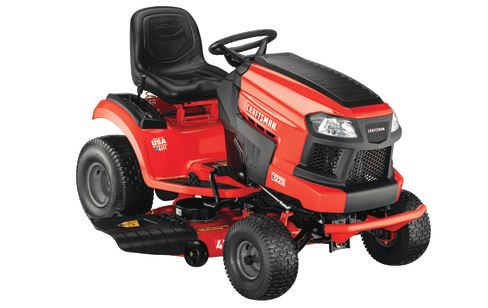Craftsman E225 42-in Lithium-Ion Riding Lawn Mower For Sale