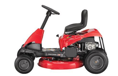 Craftsman R110 30-IN. 10.5 HP Gear Drive Mini Riding Mower with Mulching Kit specs