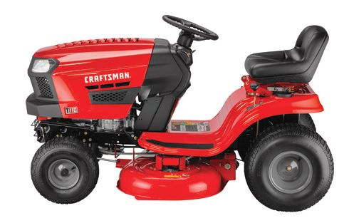Craftsman T110 Gear Drive Riding Mower Price