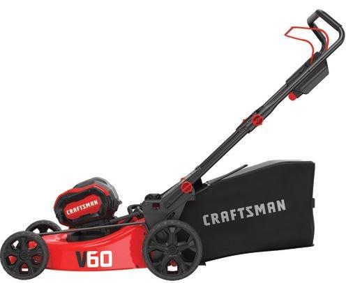 Craftsman V60 CORDLESS 21-IN. 3-IN-1 Lawn Mower KIT Price