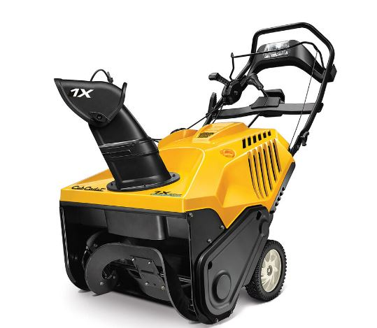 Cub Cadet 1X 21 LHP Single Stage Snow Blower specs