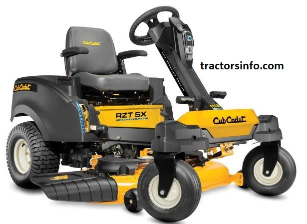 Cub Cadet RZT SX 42 Riding Lawn Mower For Sale Price Specs Review