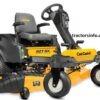 Cub Cadet RZT SX 54 Zero Turn Mower For Sale Price Specs Features