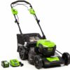 Greenworks 40V 21-Inch Self Propelled Mower