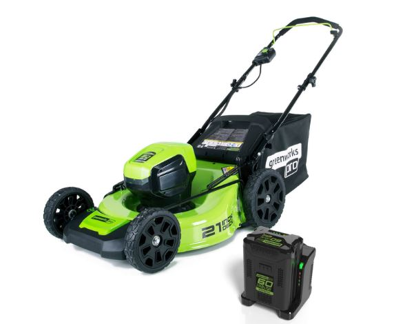 Greenworks 60V 21-Inch Cordless Brushless Lawn Mower Price, Specs & Review