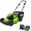 Greenworks 60V 21-Inch Self Propelled Brushless Lawn Mower For Sale, Price, Specs, Review