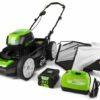 Greenworks 80V 21-Inch Cordless Brushless Lawn Mower price specs
