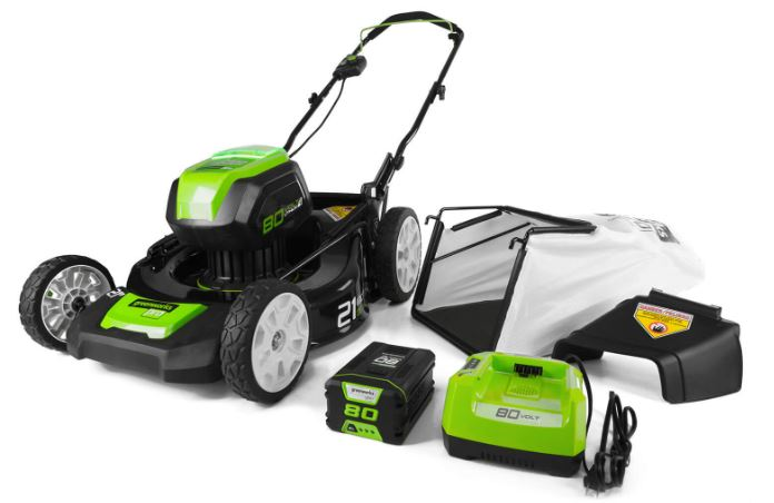 Greenworks 80V 21-Inch Cordless Brushless Lawn Mower price specs