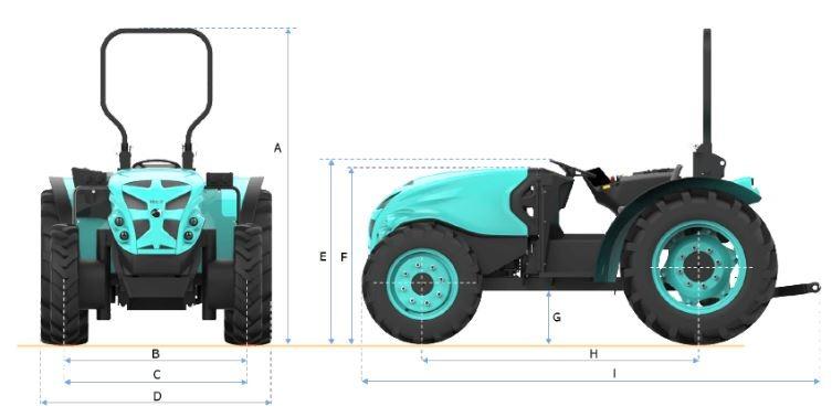 HAV 50s1 Tractor Specifications