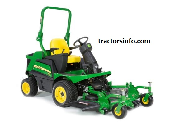 John Deere 1550 TerrainCut Front Mower For Sale Price Specs Review