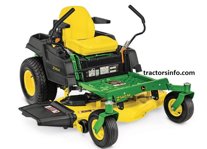 John Deere Z540M ZTrak Mower with 48-, 54-, or 62-in. Deck For Sale Price, Specs, Review, Overview