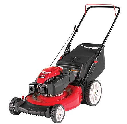 Troy Bilt TB120 High Wheel Walk-Behind Push Mower price, specs