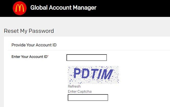Forgot Accessmcd password 2