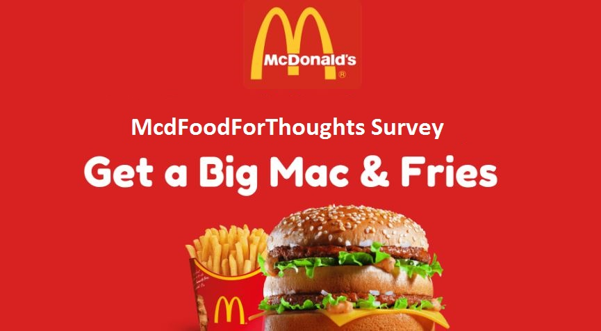 McdFoodForThoughts Survey Details