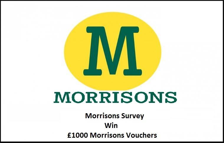 Morrisons Survey rewards