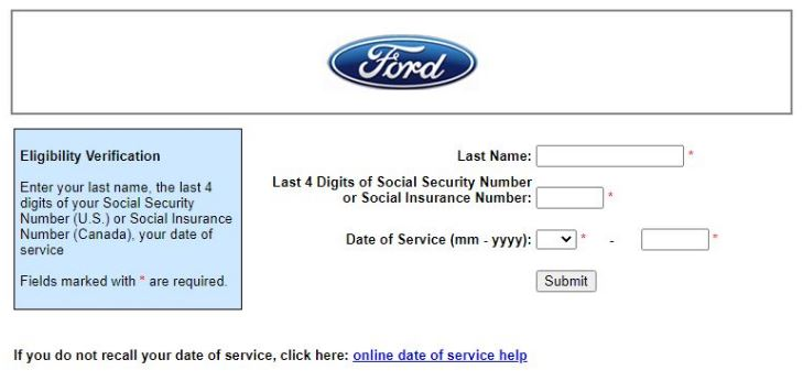 Myfordbenefits login password reset