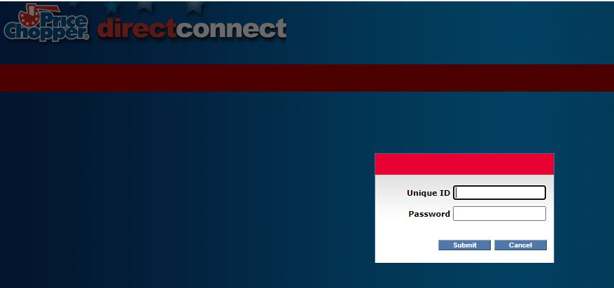 Price Chopper Direct Connect Login 1