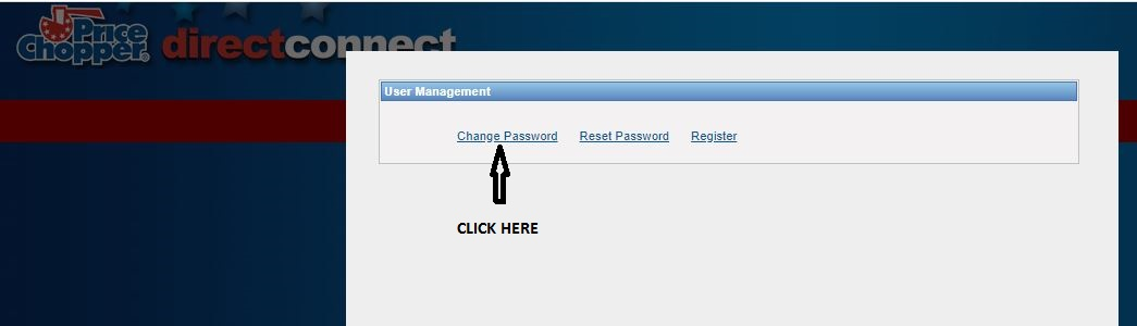 Price Chopper Direct Connect login forgot password 1