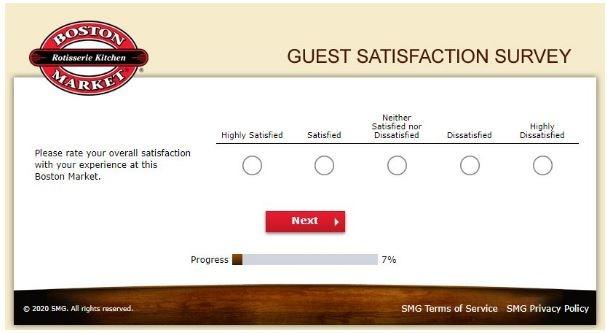 Tell Boston Market Survey