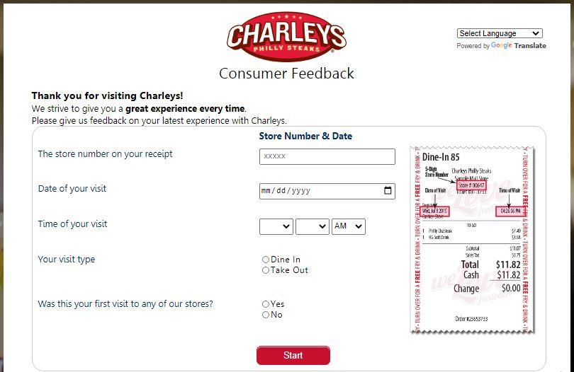 TellCharleys Survey