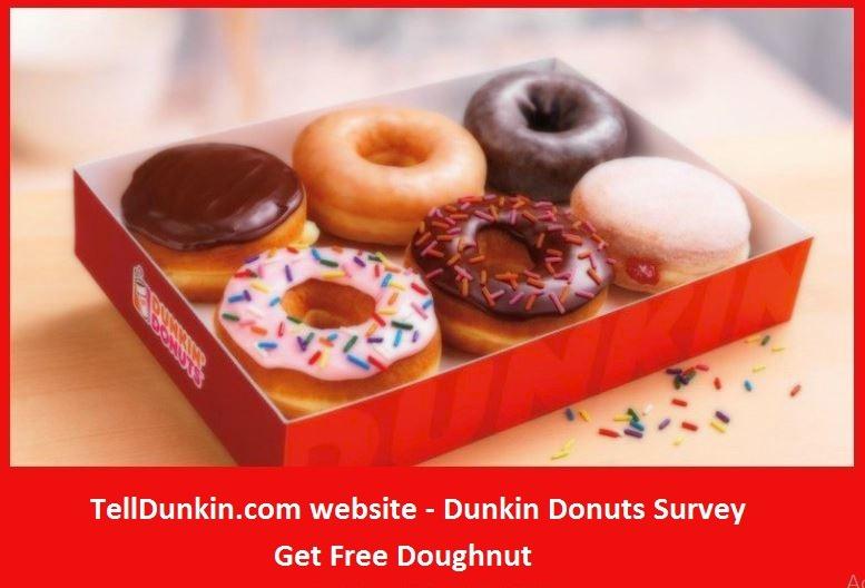 TellDunkin survey rewards