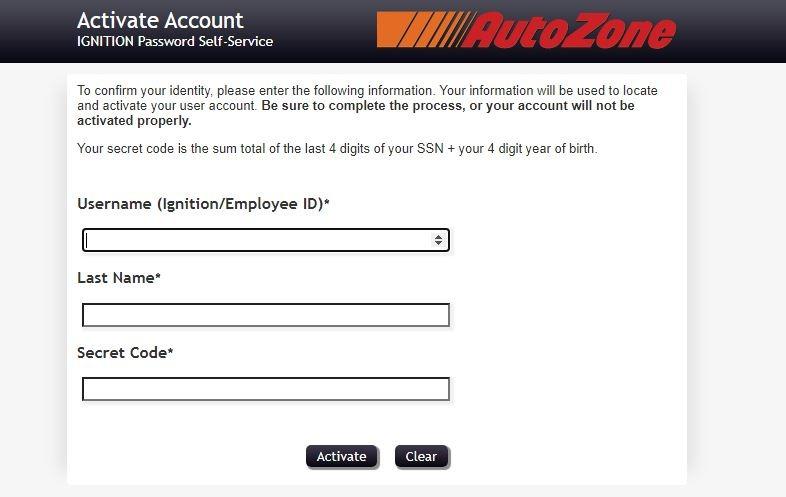 AZPeople Employees Registration Step 1