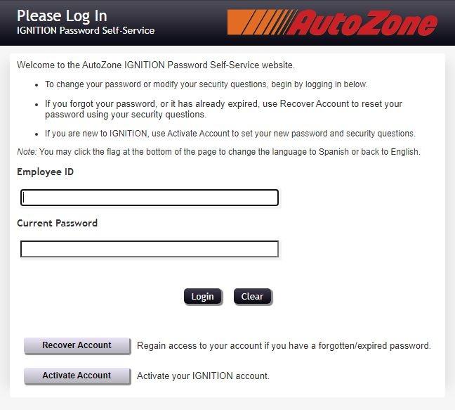 AZPeople Login FORGOT password 1