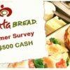 Atlanta Bread Survey Prize